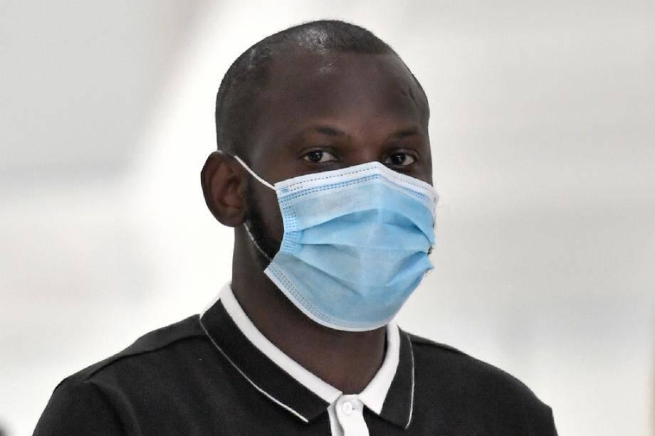 L'ex-otage de l'Hyper Cacher, Lassana Bathily, le 21 septembre 2020 lors du procès des attentats de janvier 2015