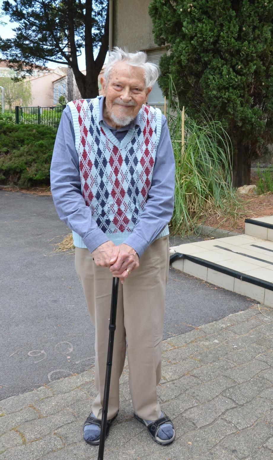 Louis Souchon effectuait une marche quotidienne.