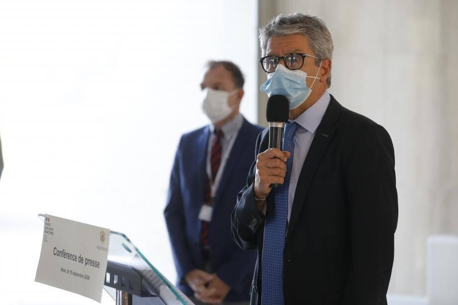 Le préfet des Alpes-Maritimes, Bernard Gonzalez.