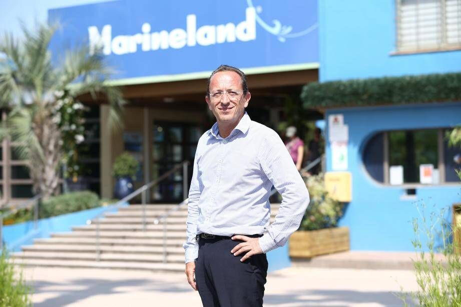 Pascal Picot, directeur général du parc antibois.