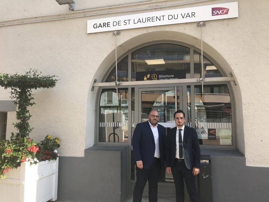 Philippe Vardon et Bryan Masson, élus du Rassemblement national, sont montés au créneau.