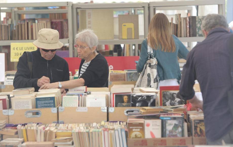 Le Festival du livre de Mouans-Sartoux lors d'une de ces précédentes éditions.