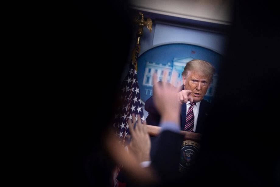 Briefing de Donald Trump à la Maison Blanche, le 27 septembre 2020