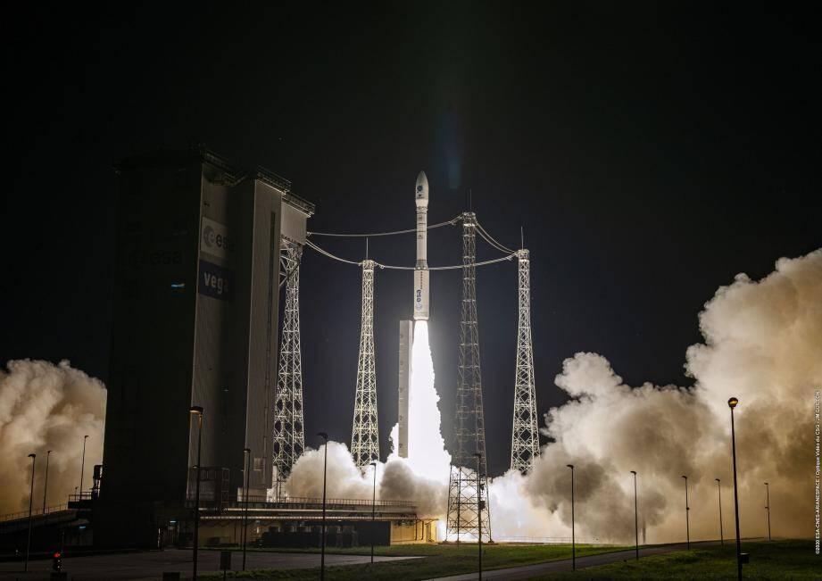 Le lancement de la fusée Vega s'est déroulé avec succès dans la nuit de mercredi à jeudi.
