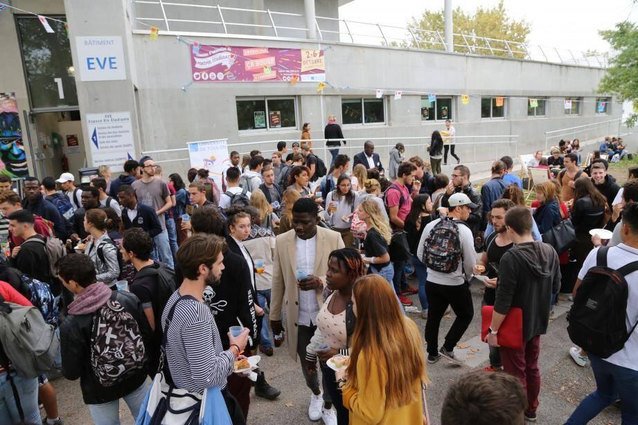 Le campus de Toulon-La Garde.