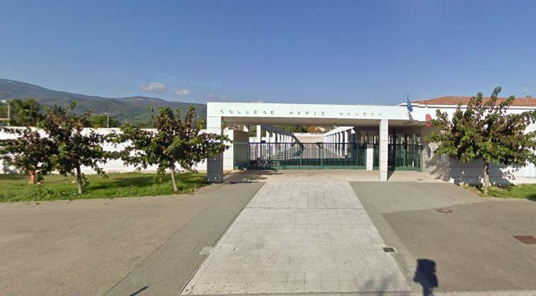 Le collège Mauron à Fayence.