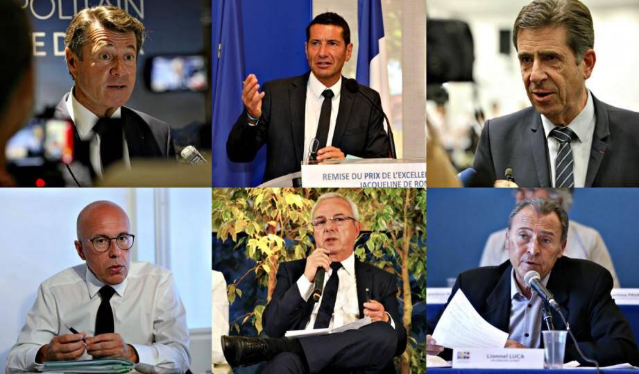 Christian Estrosi, David Lisnard, Charles-Ange Ginésy, Eric Ciotti, Jean Leonetti et Lionnel Luca: comment ont réagi les élus azuréens face au virus?