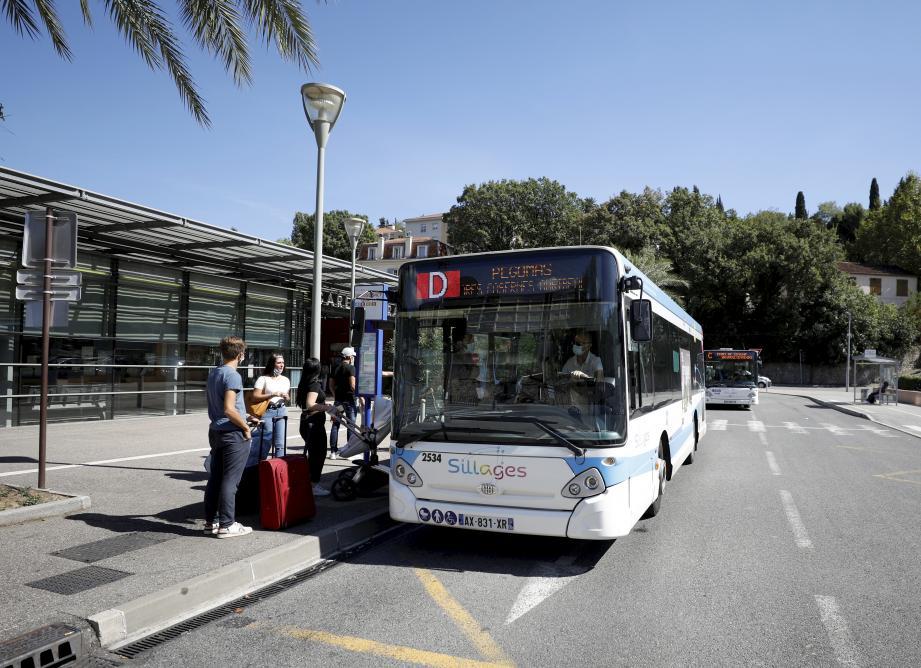 Un bus de Transdev