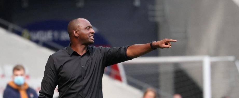 """Patrick Vieira a reconnu que """"des joueurs vont partir et d'autres vont sûrement venir""""."""