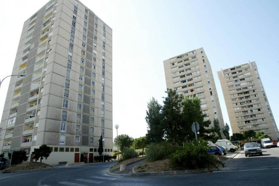 La police est intervenue lundi dans le quartier Berthe, à La Seyne-sur-Mer.