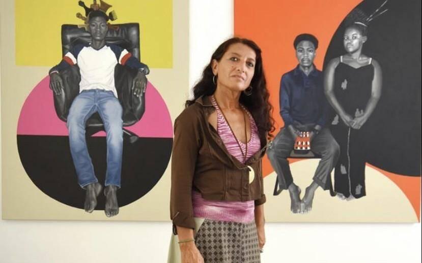 L'artiste italienne installée à Londres présente une série de portraits intéressante à Monaco