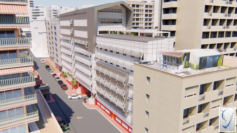 La terrasse et le salon d'honneur seront agrandis, accueillant un musée.