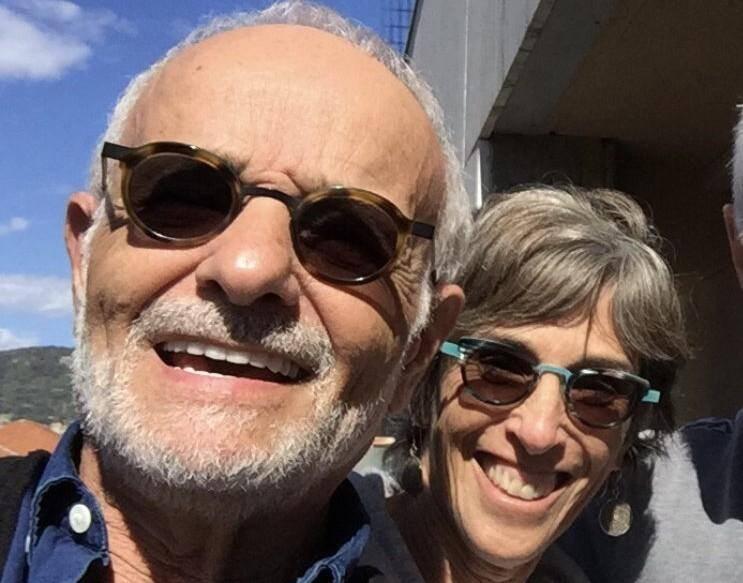 Nessim et Johanna Bohbot, sur le balcon de leur appartement rue Gioffredo: un souvenir qu'ils veulent revivre.