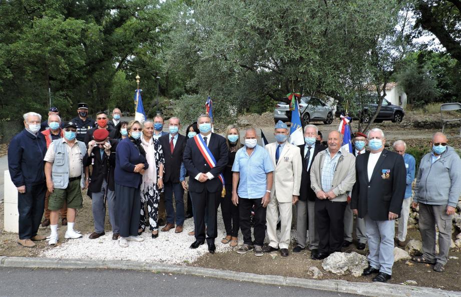 La cérémonie s'est déroulée dans le cadre d'une journée nationale d'hommage.