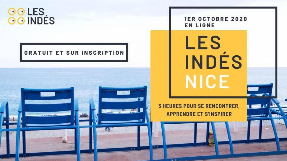 Une conférence en ligne, gratuite pour se rencontrer, apprendre et s'inspirer, entre indépendants et freelances niçois.