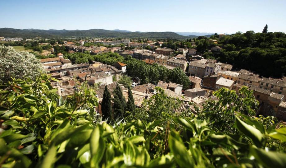 Les village des Arcs-sur-Argens.