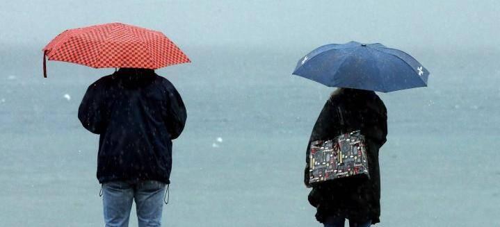 Un jeudi sous la pluie dans le Var.