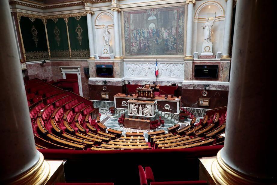 Une vue de l'Assemblée nationale.