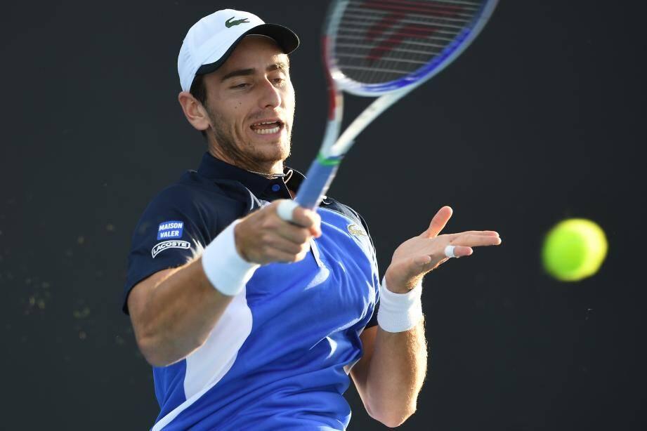Elliot Benchetrit face à un gros client au premier tour de Roland-Garros.