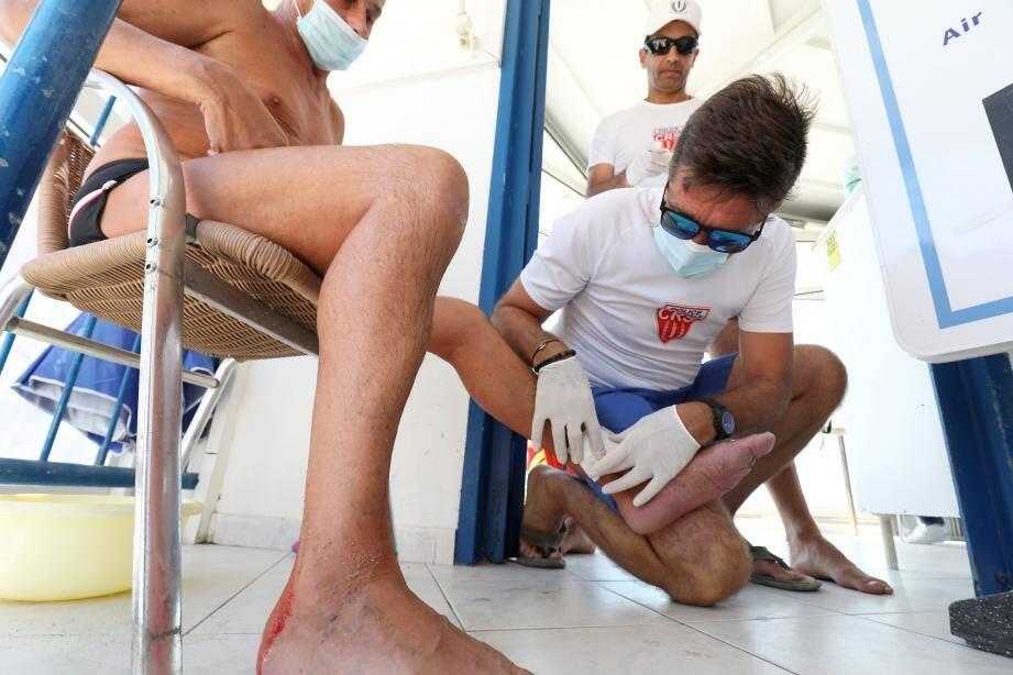 Entre le 2 juillet et le 30 août, les nageurs sauveteurs CRS ont réalisé 6133 soins sur les plages varoises.