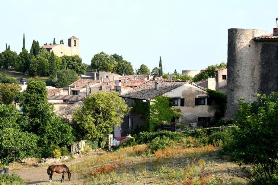 Le village de Tourtour.