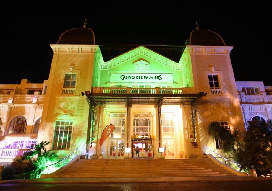 Le casino des Palmiers à Hyères.