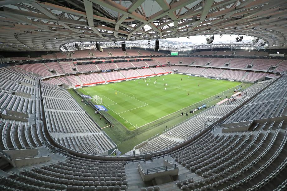 L'Allianz Riviera, le stade de l'OGC Nice.