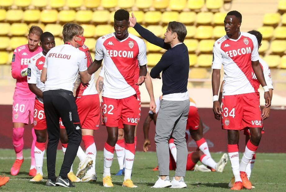 L'AS Monaco a gagné contre Strasbourg dimanche.