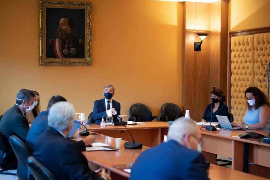Didier Gamerdinger a rencontré les partenaires sociaux mercredi dernier pour leur présenter les dispositifs mis en place par le gouvernement pour sauvegarder l'emploi.
