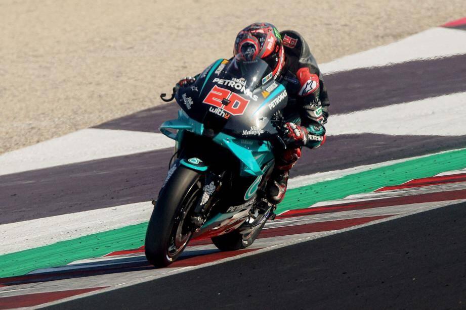 A Misano, Fabio Quartararo est tombé de haut.