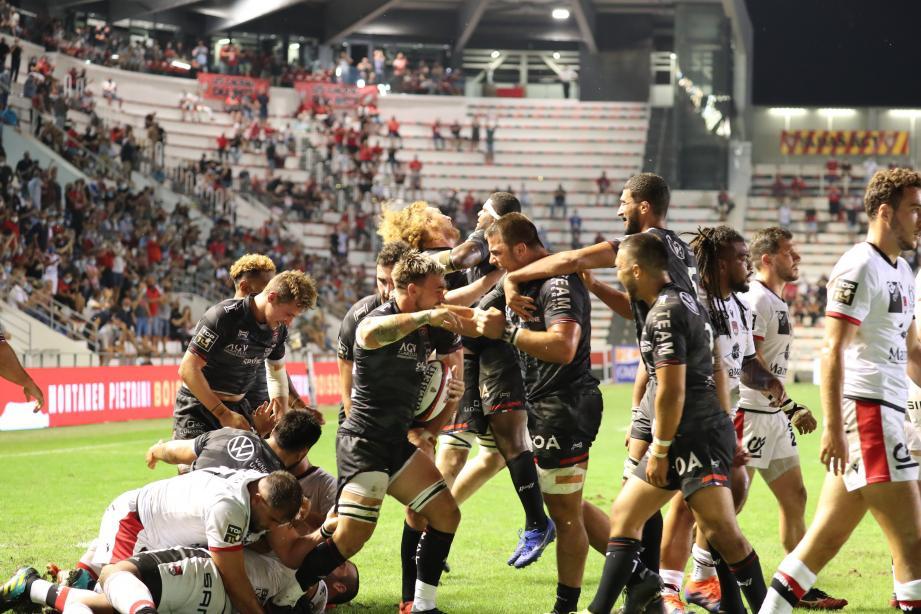 Les Toulonnais ont renversé les Lyonnais.