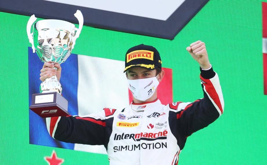 A Monza, Théo Pourchaire ajoute deux podiums à un tableau de chasse qui en totalise six, désormais.