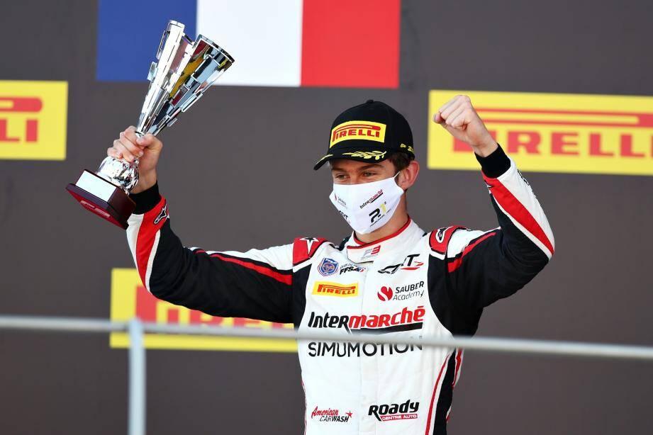 Théo Pourchaire a fini la saison en trombe : quatrième podium consécutif !