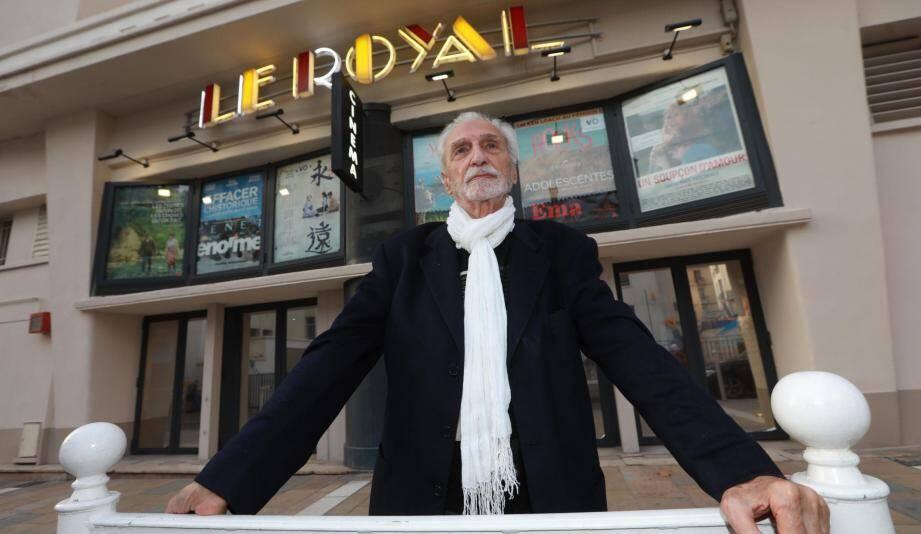 Paul Vecchiali, réalisateur, producteur indépendant et écrivain français.