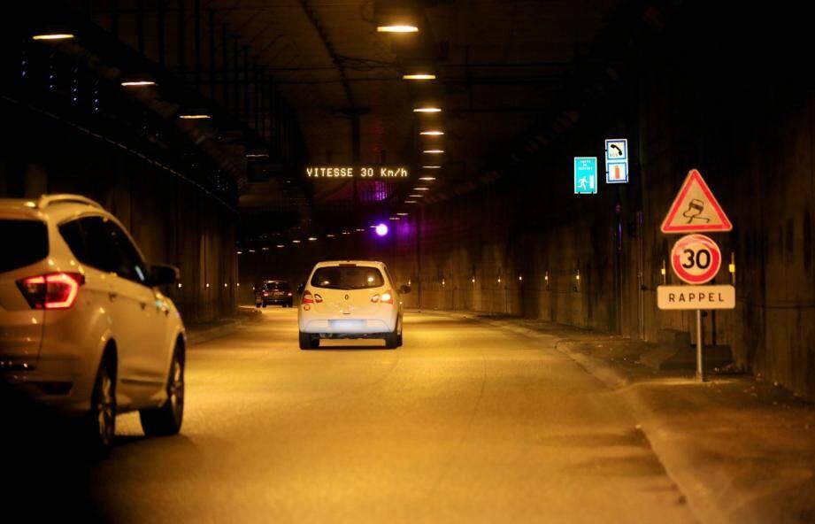 Le tunnel du Paillon (image d'illustration).
