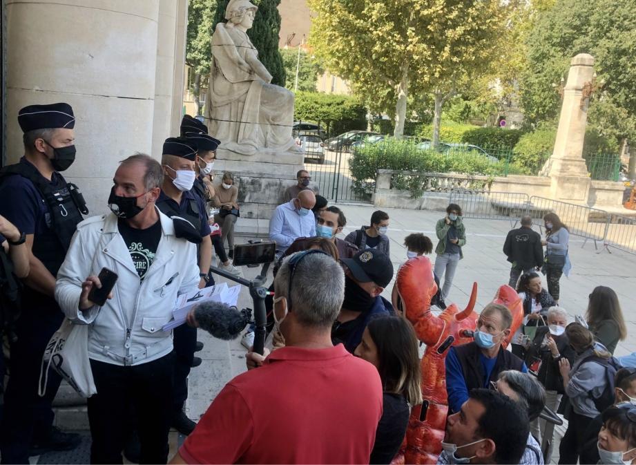 Le procès s'est tenu ce mercredi après-midi à Toulon.