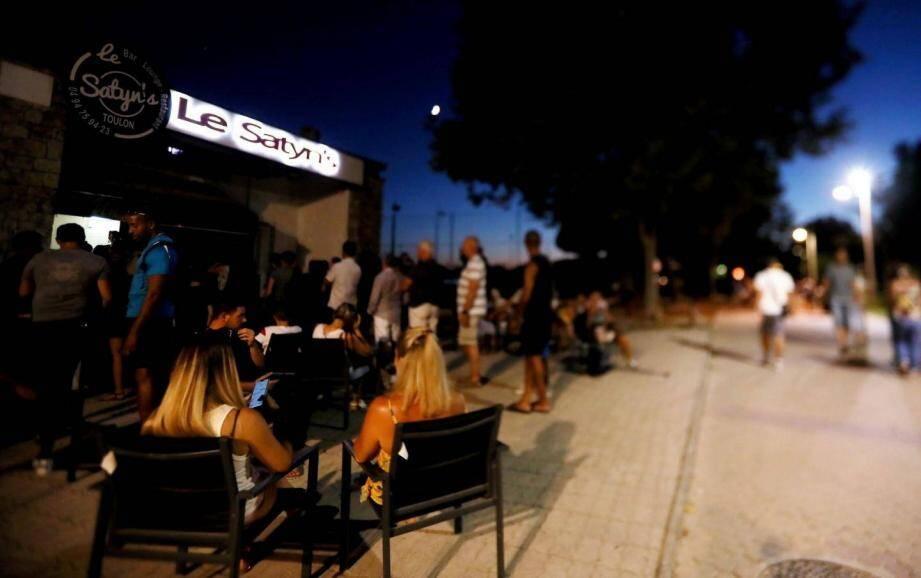 Le Satyn's, ici en 2018, est l'une des adresses prisées de la jeunesse à Toulon.