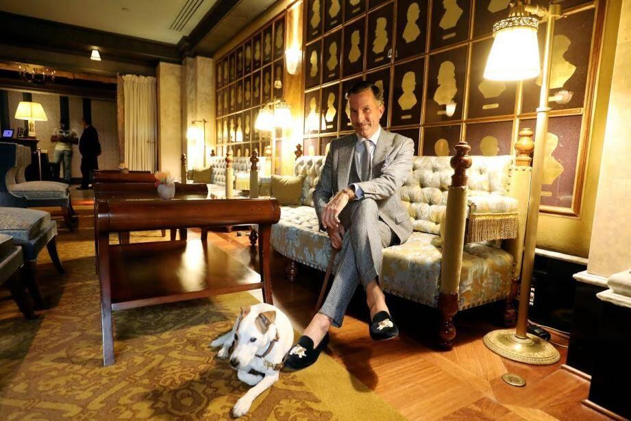Alexander Kraft, PDG de Sotheby's International Realty France, se lance dans l'habillement.