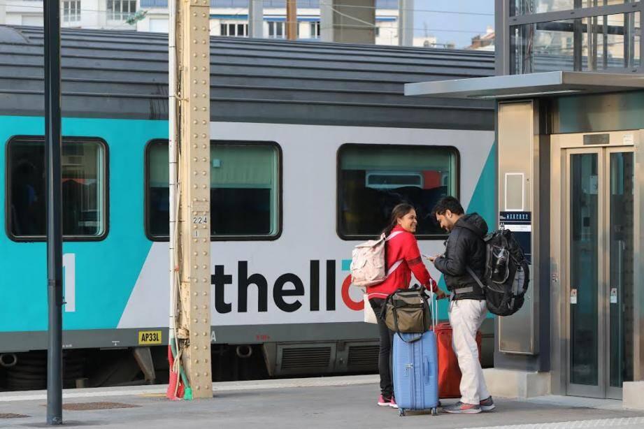 """""""Théllo avait obtenu un accord historique avec la Région PACA et la SNCF afin de pouvoir prendre en charge les voyageurs qui travaillent à Monaco et Vintimille dans le cadre de leur abonnement de travail"""", rappelle la CFDT cheminots."""