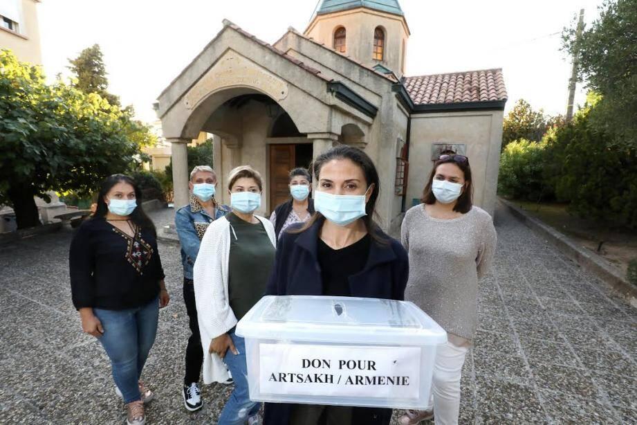 Alina Vardanyan et son équipe sont présents tous les après-midi à la chapelle Saint-Jean du Home Arménien, avenue du clocher de Fréjus, à Saint-Raphaël.