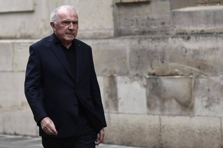 François Pinault, lors des obsèques de Jacques Chirac.
