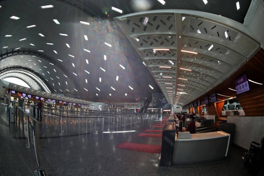 Aéroport de Doha.