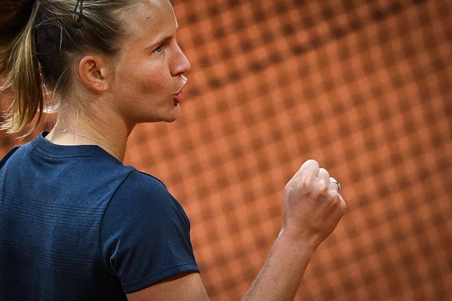 La jeune Française Fiona Ferro qualifiée pour les 8es — Roland-Garros