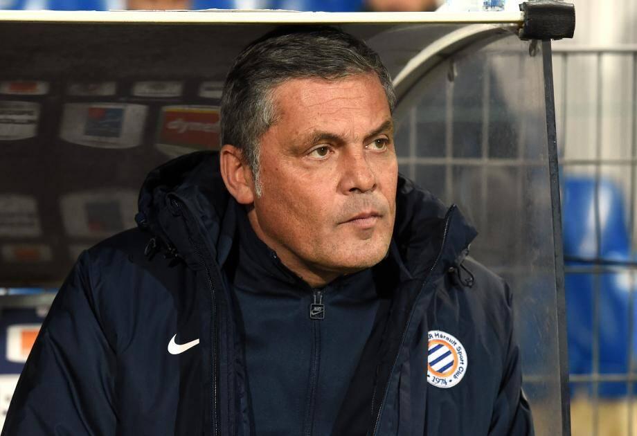 Bruno Martini, ici avec Montpellier en 2016, est décédé.