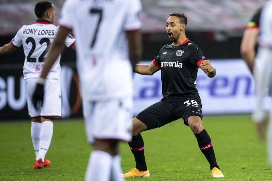 L'OGC Nice a été surclassé par Leverkusen.