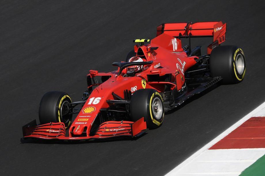 La Ferrari de Charles Leclerc.