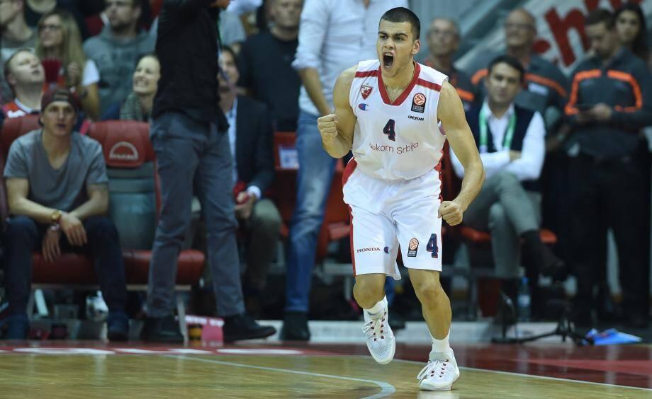 L'AS Monaco Basket a officialisé la venue du meneur de jeu serbe Nikola Rebic (25 ans, 1,88m), en remplacement de Khadeen Carrington, blessé au genou et out pour la saison.