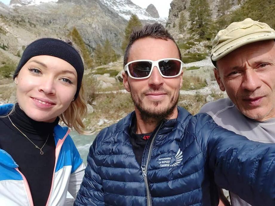 Deux jours après la catastrophe Mathilde Bellee, Julien Navarro et Gérard sont allés à la rencontre des sinistrés de vallée vallée de la Gordolasque.
