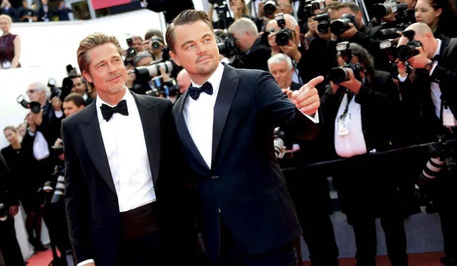 Brad Pitt et Leonardo Dicaprio au Festival de Cannes. Illustration.