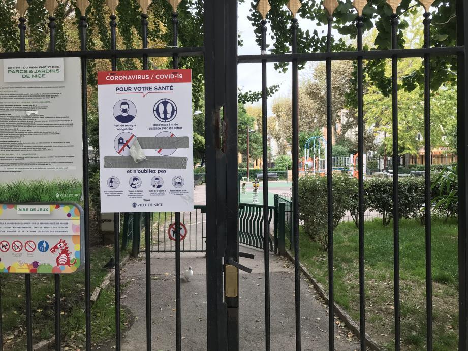 A partir du dimanche 1er novembre, les parcs et jardins de Nice seront fermés.